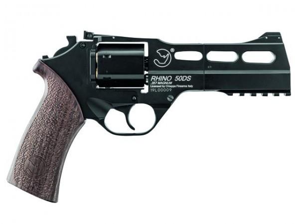 Rhino Revolver Co2 NBB schwarz -F- 6mm BB Holzoptik