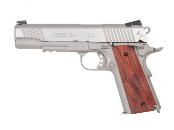 Colt 1911 Railgun Stainless CO2 BB