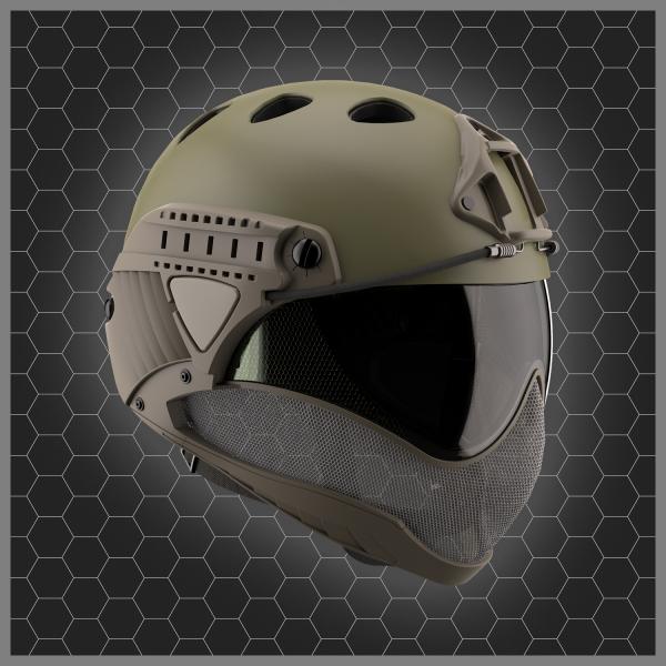 WARQ Helmet OD Green