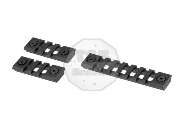 Keymod Rail Sections Black (Trinity Force)