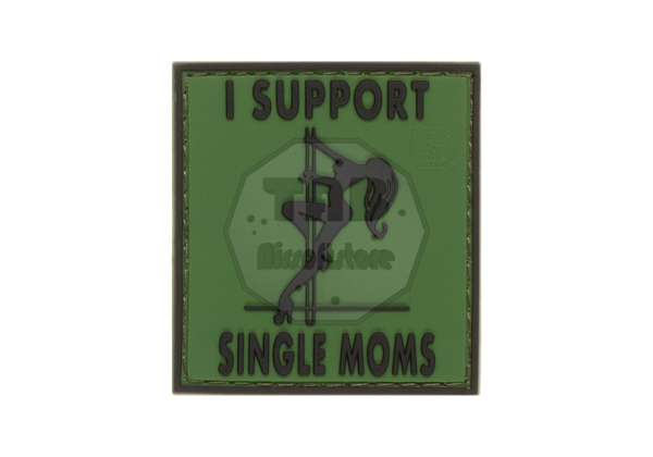 I Support Single Mums Rubber Patch Forest (JTG)