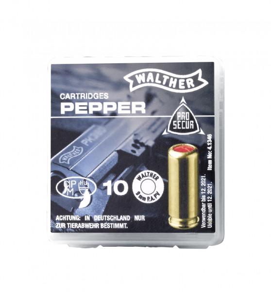 Walther Pfeffermunition 9mm P.A. PV - 10 Schuss