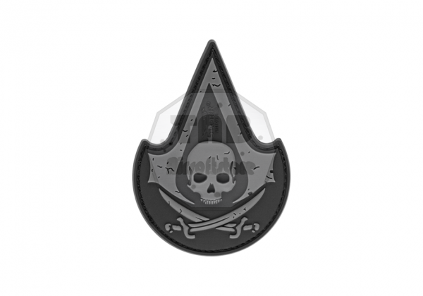 Assassins Skull Rubber Patch SWAT (JTG)