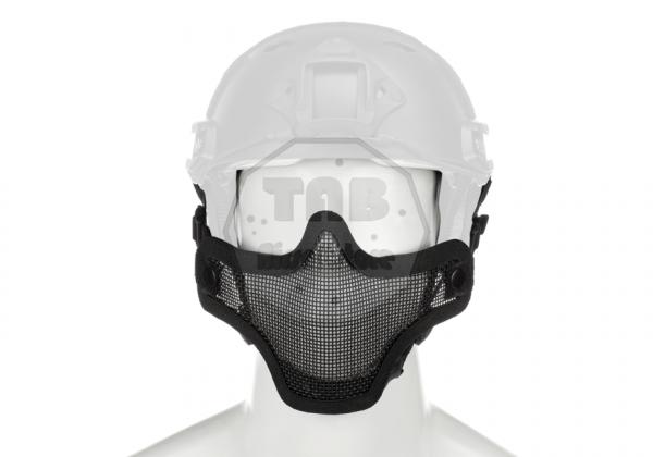 Steel Half Face Mask FAST Version Black (Invader Gear)