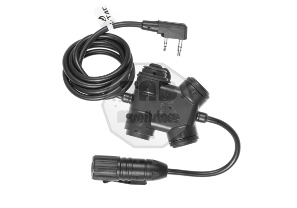 zSLX Clarus PTT Kenwood Connector Black (Z-Tactical)