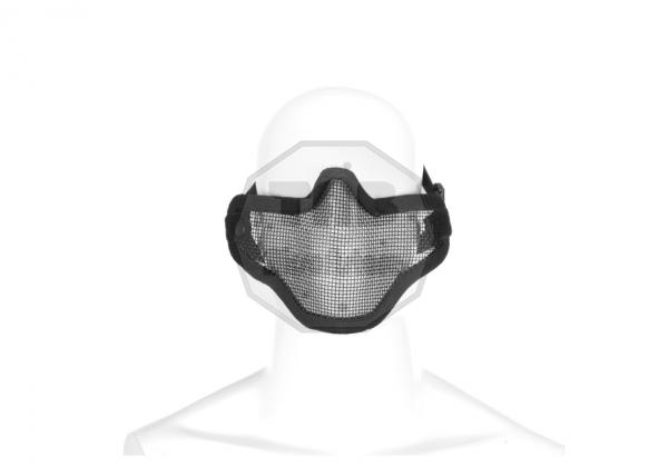 Steel Half Face Mask Black (Invader Gear)