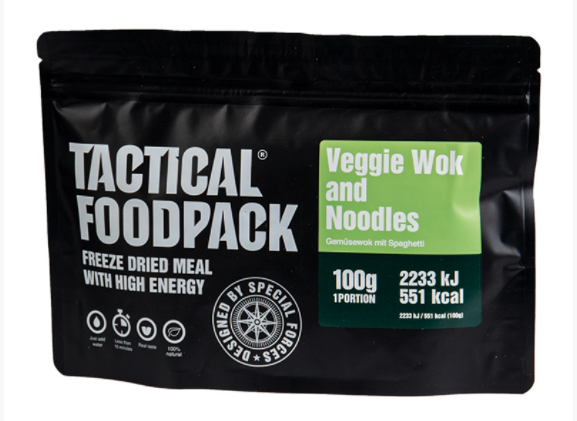 Tactical Foodpack - Veggie Wok and Noodles