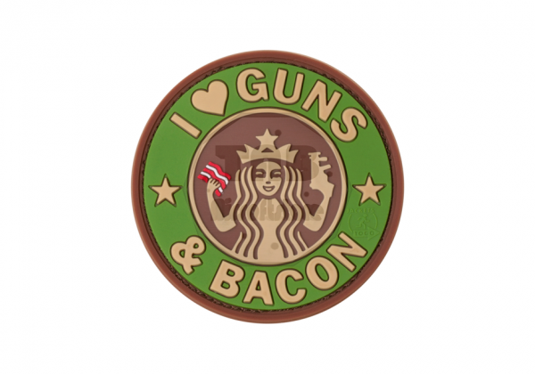 Guns and Bacon Rubber Patch Multicam (JTG)