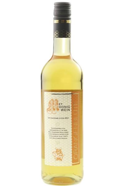 Honigmet Orangenblüte - Honigwein aus Orangenblütenhonig, 11% vol., Flasche   750 ml