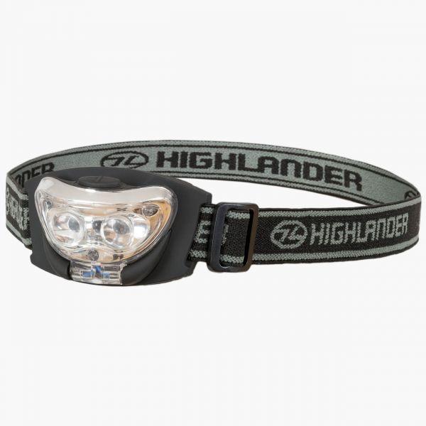 Vision 2+1 LED Kopflampe, Headlamp Box 6 (Highlander)