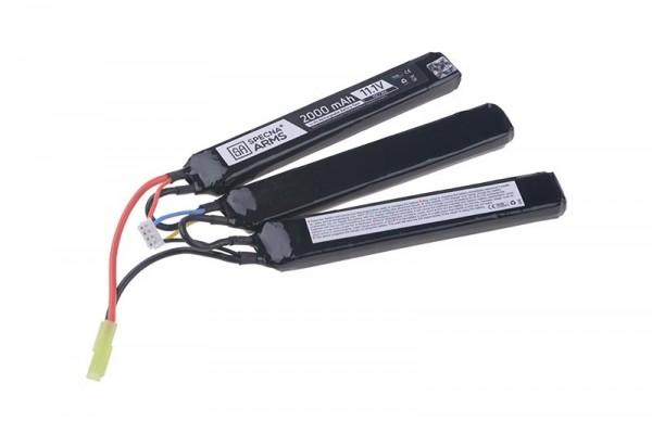 LiPo 11,1V 2000mAh 15/30C Battery - Triple Stick - Stock Tube Type