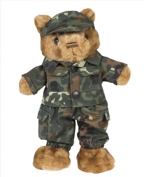 Teddyanzug klein Flecktarn