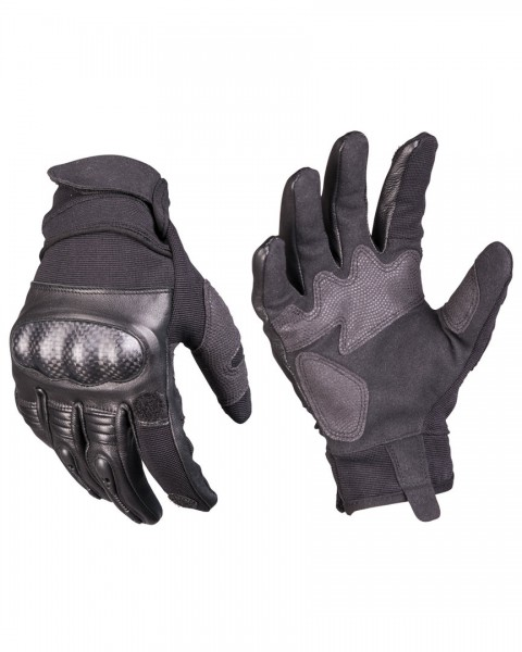 TACTICAL GLOVES GEN.II LEDER SCHWARZ