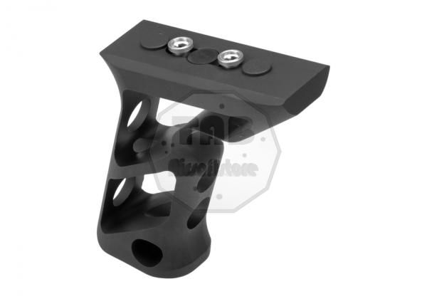 CNC Keymod Long Angled Grip Black (Metall)