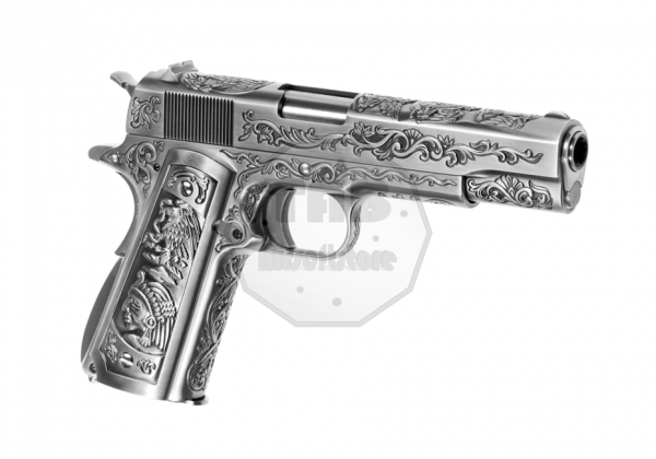 M1911 Etched Full Metal GBB (WE)