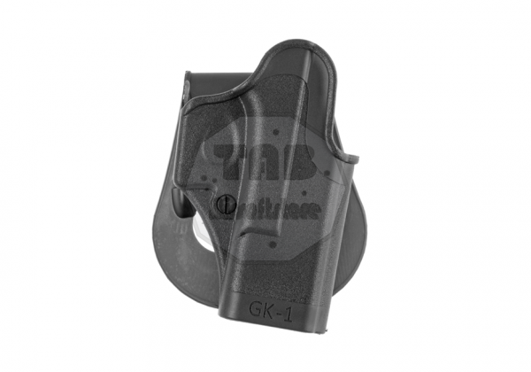 Paddle Holster für Glock 17 Black (IMI Defense)
