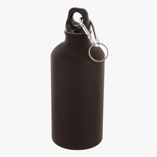 Highlander 500ml Alu Flasche schwarz