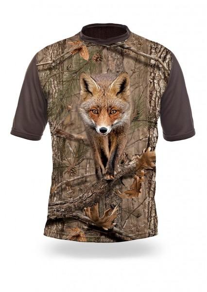 Fox 3D T-Shirt Kurzarm (Hillman)