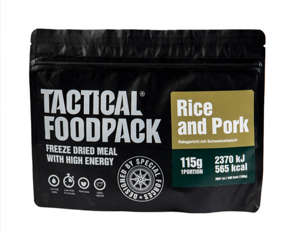 Tactical Foodpack - Pork and Rice