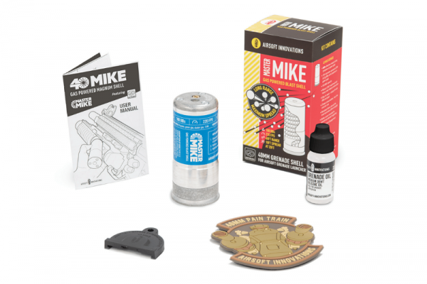 Master Mike 40mm Gas Grenade (Airsoft Innovations)