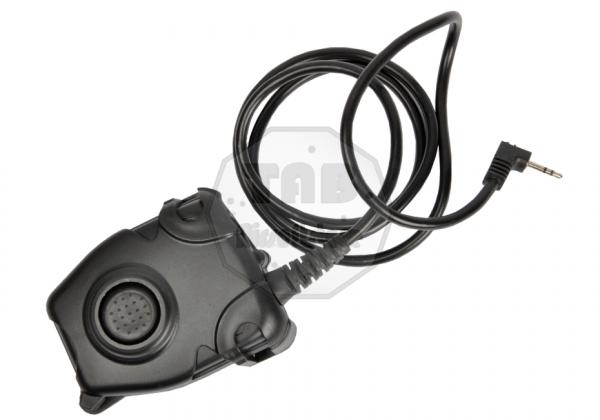 PTT Motorola 1-Pin Connector Black (Z-Tactical)