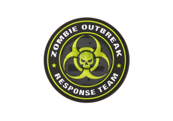 Zombie Outbreak Rubber Patch Green (JTG