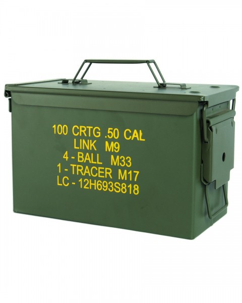 US AMMO BOX STEEL M2A1 CAL.50