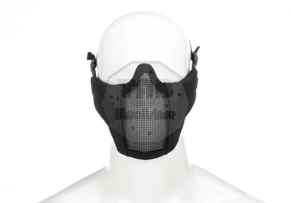 Mk.II Steel Half Face Mask Black (Invader Gear)