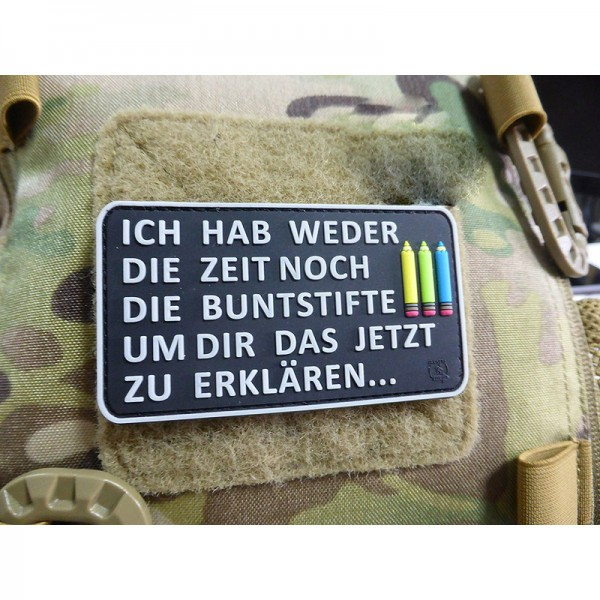 Buntstifte Patch, fullcolor (JTG)