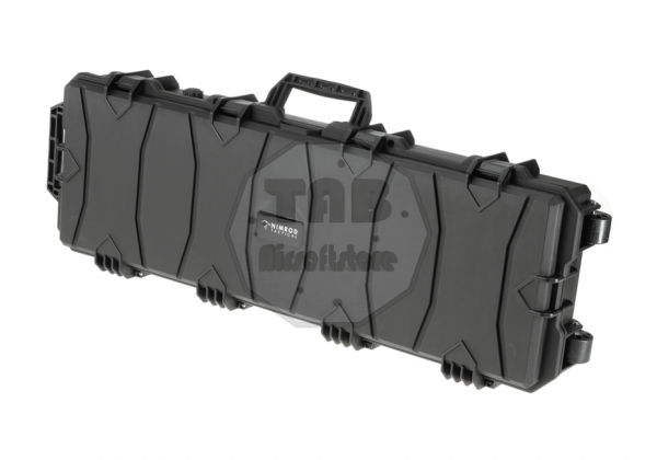 Rifle Hard Case 100cm Wave Foam Black (Nimrod)