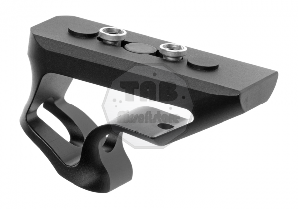 CNC Keymod Short Angled Grip Black (Metall)