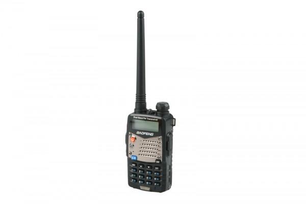 Manual Dual Band Baofeng UV-5RA Radio - Short Battery (VHF/UHF)