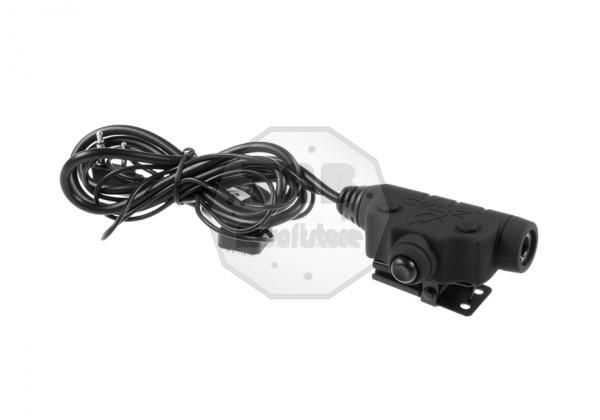 U94 II PTT Kenwood Connector Black (Z-Tactical)