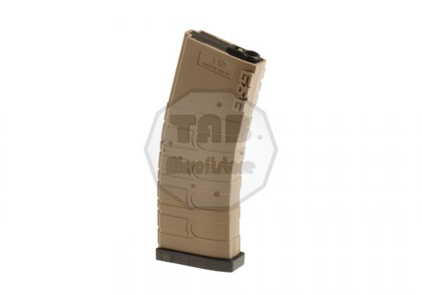 Magazin M4 Midcap 120rds FDE Black (G&G)
