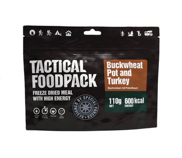 Tactical Foodpack - Buckwheat Pot an Turkey