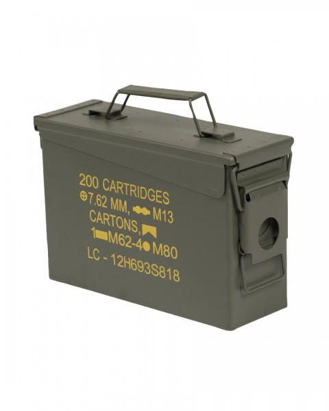US AMMO BOX STEEL M19A1 CAL.30