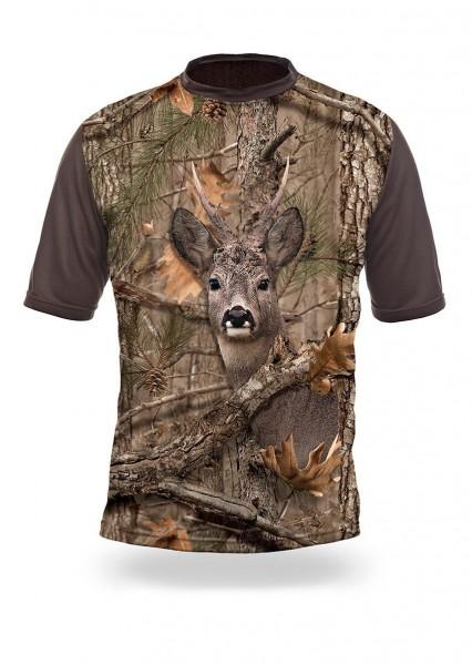 Roe Deer 3d T-Shirt Kurzarm (Hillman)