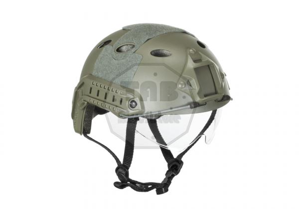 FAST Helmet PJ Goggle Version Eco Foliage Green (Emerson Gear)