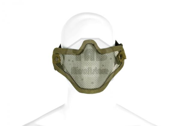 Steel Half Face Mask OD (Invader Gear)