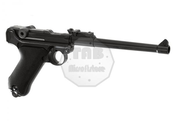 P08 8 Inch Full Metal GBB Black (WE)