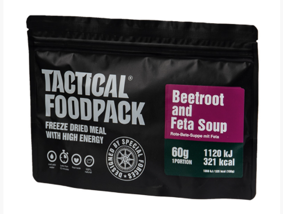 Tactical Foodpack - Beetroot Soup with Feeta