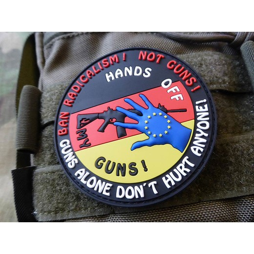 Hands off my Gun Deutschland Patch, fullcolor (JTG)