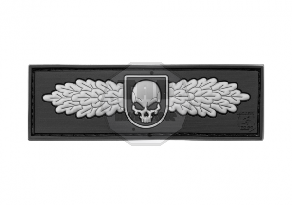 SOF Skull Badge Rubber Patch SWAT (JTG)